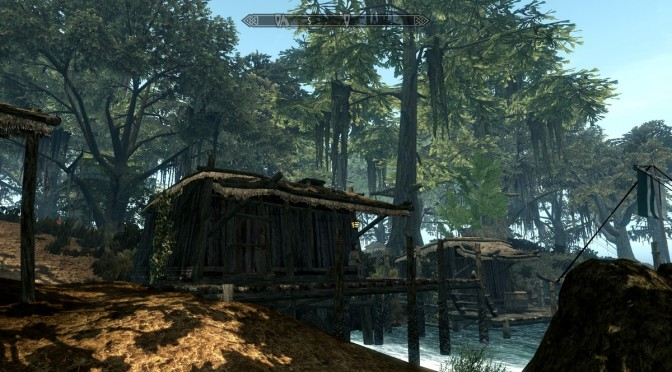 Mixture of MORROWIND and SKYRIM gives us SKYWIND
