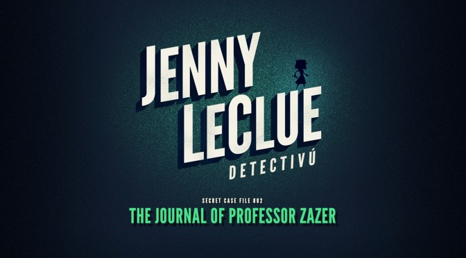 JENNY LeCLUE Murder Mistery Coming Soon